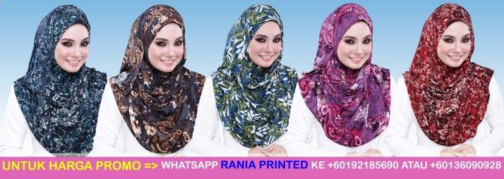 Tudung Rania Printed 5 copy