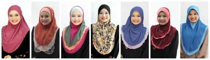 syria shawl L